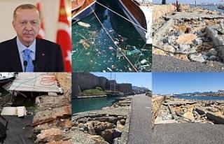 Erdoğan Girne'yi mutlaka görmeli