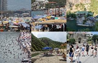 Türkiye'de turizmciler memnun