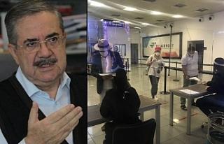 Ercan'da önlem alınmalı