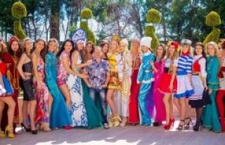 37 ülke güzeli Antalya'da kampta