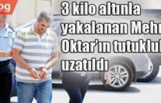 3 kilo altınla yakalanan Mehmet Oktar'ın tutukluluğu...
