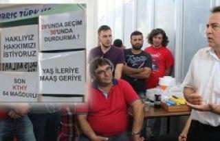 64 CAS çalışanı Atakan'a tepkili