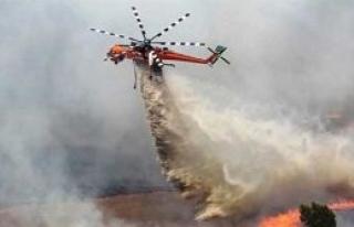 Avustralya yangınlarla mücadele ediyor