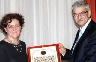 Başbakan Kalyoncu misafir kabul etti