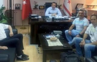 Cahitoğlu, Triatlon Federasyonu'nu kabul etti