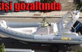 Çalınan tekne Girne'de ortaya çıktı
