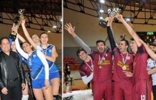 Çamlıkspor ve YDÜ şampiyon