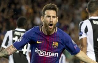 Camp Nou'da Messi resitali: 3-0