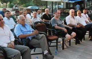 """Çetinkaya """"Taksim"""" için toplandı"""