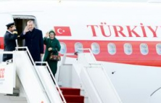 Erdoğan Almanya'ya gitti