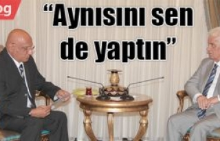 Eroğlu, kendisini eleştiren talat'a yanıt verdi: