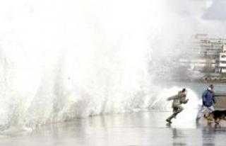 Fırtına fotoğrafçılara yaradı