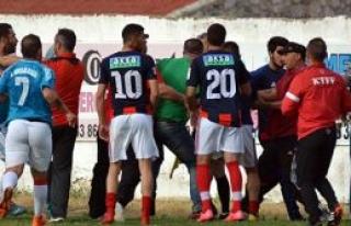 Gergin maç Boğaz'ın 3-2