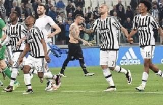 Juventus üst üste 5. kez şampiyon