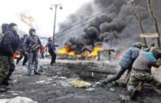 Kiev yangın  yerine döndü