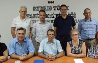 KTBB yeni yönetimi  görev dağılımı yaptı