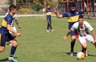 Lapta'da gol yağmuru