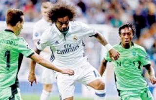 Real Madrid öldü öldü dirildi