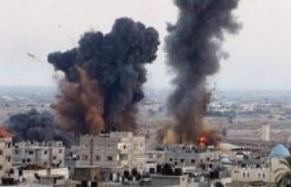 Saldırılarda hayatını kaybeden Filistinlilerin...