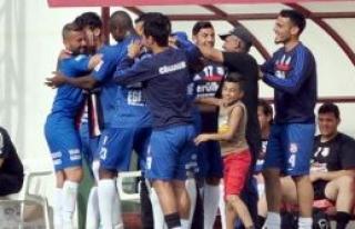 Şampiyonluk Mesarya'da kaldı 5-2