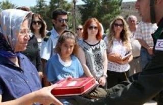 Şehit Hasan Bulli 51 yıl sonra toprağa verildi