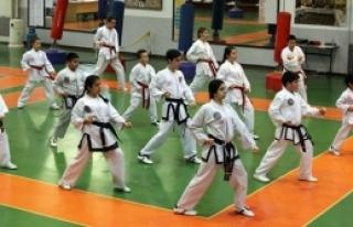 Taekwondocular Girne'de yarıştı