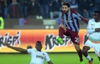 Trabzon'da ses çıkmadı 0-0
