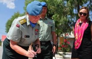 UNFICYP'te emir komuta Kristin Lund'ta