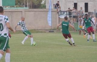 Yeşilova'dan gollü prova 4-0