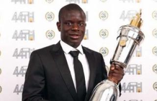 Yılın futbolcusu N'Golo Kante