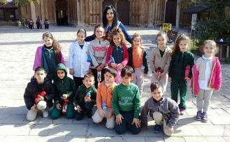 Doğu Akdeniz Doğa İlkokulu Gazimağusa Kaleiçi'ndeki tarihi yapılar hakkında bilgi edindi