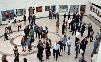 Kıbrıs Türk Ressamları Retrospektif II sergisi'ne üst düzey katılım