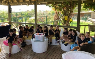 Necat British College öğrencileri Merit Crystal Cove Hotel Pony Club'ta gönüllerince eğlendi