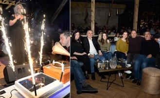 Merit Park'ta sahne alan Ayta Sözeri'ye sürpriz doğum günü kutlaması yapıldı