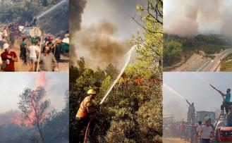 Türkiye alevlerle boğuşuyor