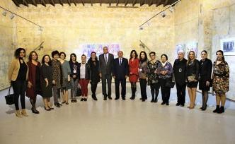 Sanat Buluşması Sergisi açıldı