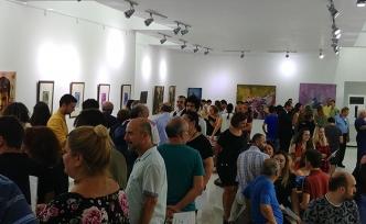 12 genç sanatçının 28 eseri sanatseverlerle buluştu