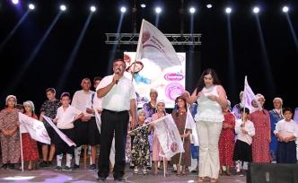 Açılışını Dikmen Belediye Başkanı Çelebi'nin yaptığı Taşkent Kültür Festivali büyük ilgi gördü