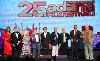 Adana Film Festivali etkinlikleri kapsamında Türk Sineması'na katıda bulunanlar unutulmadı
