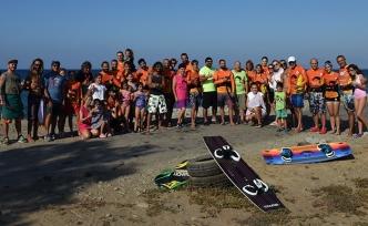 Uyuşturucu sorununa dikkat çekmek amacıyla Yedidalga'da düzenlenen Kite Surf Etkinliğine yoğun katılım oldu