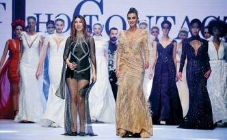 """IF Wedding Fashion İzmir Fuarı kapsamında """"Hot Contact"""" defilesi gerçekleştirildi"""