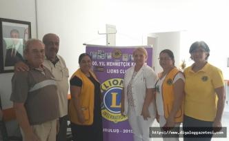100. Yıl Mehmetçik Karpaz Lions Kulübü 34 ünite kan toplandı