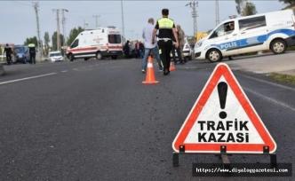 Son bir haftada 53 trafik kazası