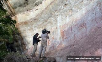 12 bin 500 yıl önce çizildiği tahmin edilen duvar çizimleri keşfedildi