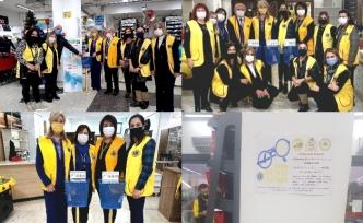 Lions kulüpleri Lefkoşa'da, 'Gözlük Çerçevesi Geri Dönüşüm Projesi' kapsamında kampanya başlattı