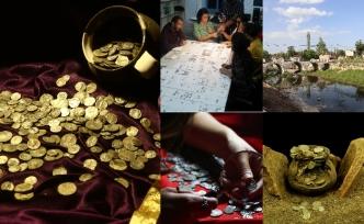 "Aizanoi Antik Kenti'nde ""Roma'nın sikke koleksiyonu"" bulundu"