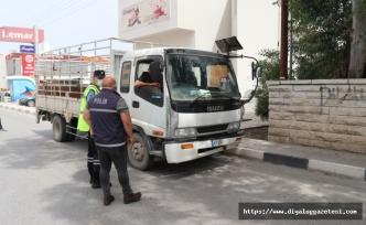 616 araç sürücüsü trafik suçu işledi