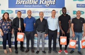 Breathe Right ödülleri verildi