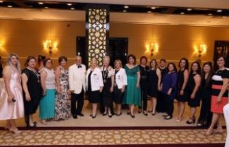 Başkent Lions Kulübü'nde, başkanlık devir teslimi Merit Royal & Premium Hotel'de gerçekleşti