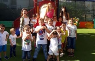 Gelecek Nesil Okul Öncesi ve Etüt Merkezi öğrencileri, Canev tatar ile söyleşi yaptı